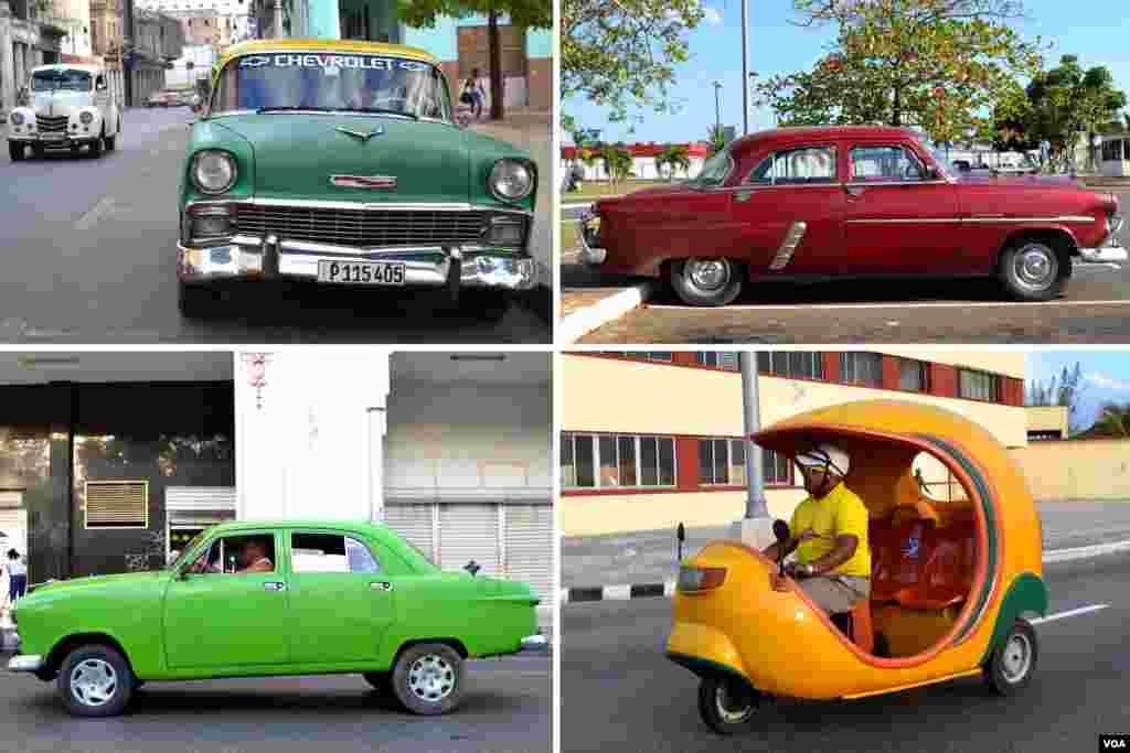 Автівки на вулицях Гавани