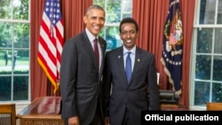 Madaxweyne Obama iyo Danjire Axmed Cawad