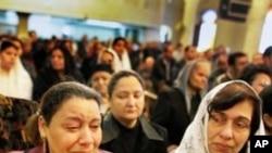 埃及在自殺爆炸肇事現場舉行彌撒