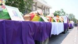Brazzaville rend hommage à 18 personnes tuées dans des attaques de train dans le Poo-Reportage de Ngouela Ngoussou