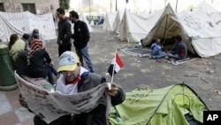 Egyptian Protesters Converge on Presidential Palace