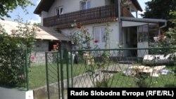 Delimično obnovljen dom novinara Milana Jovanovića (Foto RFE/RL)