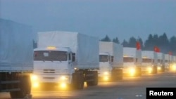Russian convoy of 280 trucks carrying humanitarian aid for Ukraine set off on Tuesday amid Western warning