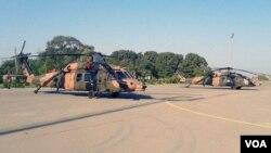 თურქული Sikorsky S-70 ტიპის ვერტმფრენები აზერბაიჯანის ავიაბაზაზე
