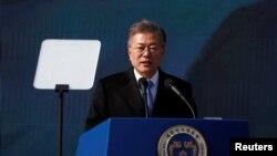 «مون جائه این» رئیس جمهوری کره جنوبی - آرشیو
