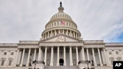 미국 워싱턴의 연방 의회 건물.