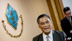 Ketua Komisi Pemiu, Ithiporn Boonpakong di Bangkok, Thailand, Rabu, 23 Januari 2019. (Foto: dok).