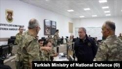 Turkish Ministerof National Defence Hulusi Akar