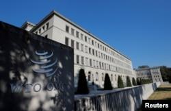 스위스 제네바의 세계무역기구(WTO) 본부.