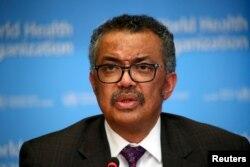 ကမ္ဘာ့ကျန်းမာရေးအဖွဲ့ချုပ် (WHO) အကြီးအကဲ Dr. Tedros Adhanom Ghebreyesus