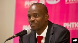 Jovenel Moise, from the PHTK political party, won 55.6 percent of the votes in Haiti's election on November 20.