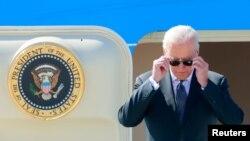 Президент Джо Байден прибув до Женеви 15 червня напередодні зустрічі із Володимиром Путіним (REUTERS/Denis Balibouse)