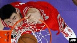 Süper Basketçi Yao Ming'den Buruk Veda