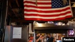 美國邁阿密市一家餐館(路透社2020年8月31日)