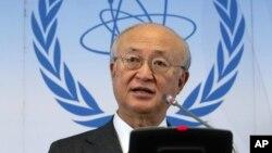 یوکیا آمانو، دبیرکل آژانس بین المللی انرژی اتمی