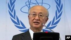 یوکیا آمانو، مدیر کل آژانس بینالمللی انرژی اتمی
