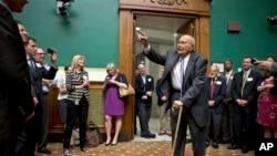 Dân biểu John Dingell kỷ niệm 20.997 ngày trong chức vụ dân biểu ở Điện Capitol, Washington, 7/6/2013