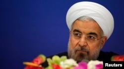 伊朗總統魯哈尼5月22日在上海亞洲峰會上