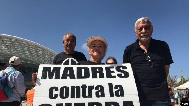 Protestas durante visita de Trump a Puerto Rico