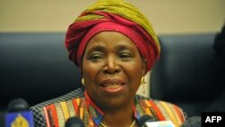 African Union Commission head and former South African Minister Nkosazana Dlamini-Zuma.