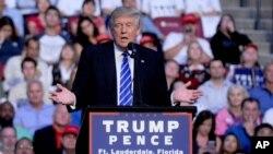 共和黨總統候選人唐納德·川普
