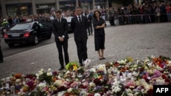 Ceremoni përkujtimore për viktimat e masakrës në Norvegji