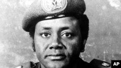 Le général-major Sani Abacha, ancien dictateur du Nigeria