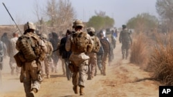 US forces in Helmand Province of Afghanistan