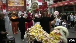倫敦唐人街正在籌備盛大慶典迎接農曆新年