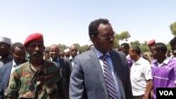 Waziri mkuu aliyetolewa madarakani wa Somalia Abdi Farah.