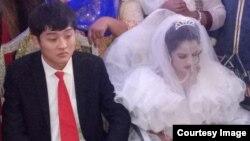 مہک پرویز کی شادی کی تصویر