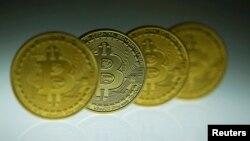 在德國柏林展示的比特幣