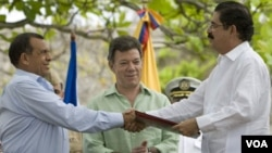 Zelaya reconoció la voluntad de Porfirio Lobo para firmar el acuerdo que permitirá el reingreso de Honduras en la OEA.