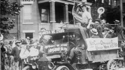 Strikers in Pittsburgh, Pennsylvania, around 1919