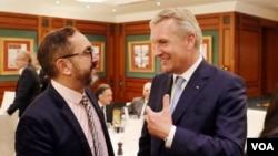 Eski Almanya Cumhurbaşkanı Christian Wulff, VOA Türkçe Berlin muhabiri Cem Dalaman'ın sorularını yanıtladı.