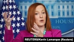 白宮發言人莎琪。