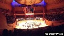 지난 12일 미국 캘리포니아주 월트 디즈니 콘서트 홀에서 LA한미음악인협회(LAKMA)가 주최한 한반도 평화 기원 음악회가 열렸다.