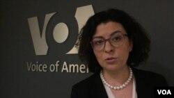 Oksana Syroyid, wakil ketua parlemen Ukraina.