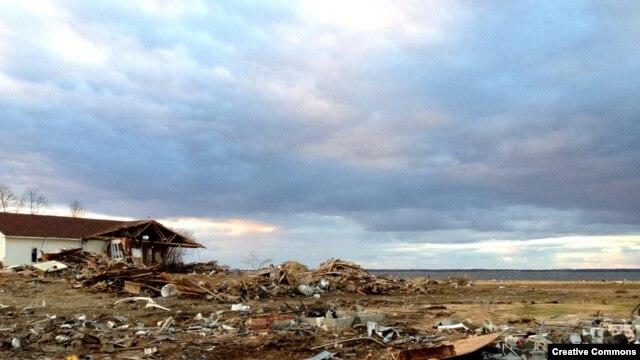 Uništena obala Nju Džersija posle uragana Sendi, 22. oktobra 2012.