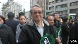 旅台前中共党史专家 林保华(美国之音 杨明)
