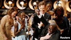 Ekipa filma 12 Years a Slave slavi posle osvajanja Oskara za najbolje ostvarenje