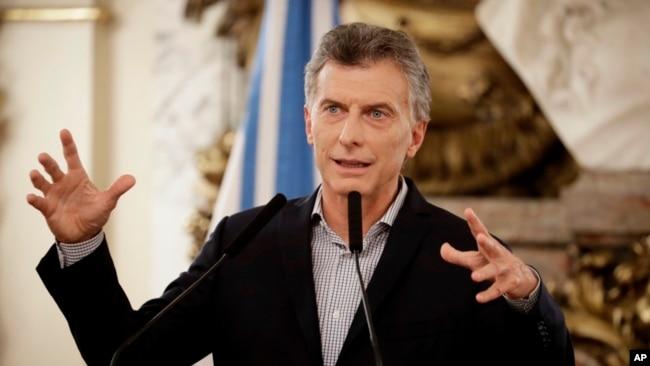 Macri mostró su rechazo por la condena de casi 14 años al opositor venezolano Leopoldo López.