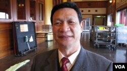 台灣觀光導游協會理事長 伍永益。