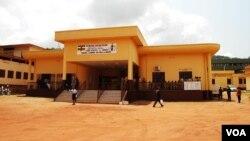 Vue du tribunal de grande instance de Bangui, le 16 octobre 2017. (VOA/Freeman Sipila)