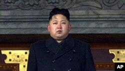 金正恩2012年12月29日在平壤的照片