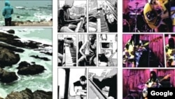 The Storyboard app can create comic book-style effects from video clips. (Google)