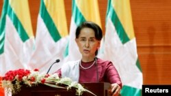 Aung San Suu Kyi. (Archives)
