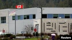 华为CFO孟晚舟在加拿大不列颠哥伦比亚枫树岭的一个女子拘留所里被拘押。(2018年12月8日)