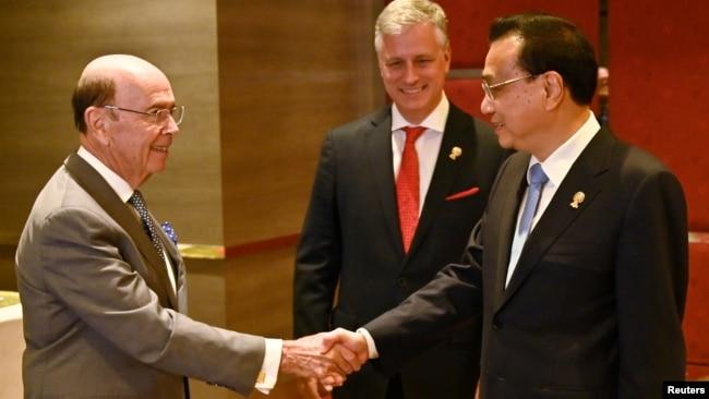 """罗斯:美国与亚洲保持""""极度接触"""""""