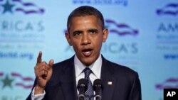 지난 30일 기자회견을 가진 바락 오바마 미 대통령.